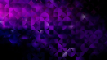Purple and Black Abstract Quarter Circles Background Illustration