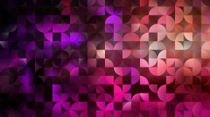Abstract Purple and Black Quarter Circles Background Vector Image