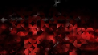 Abstract Cool Red Quarter Circles Background Illustration