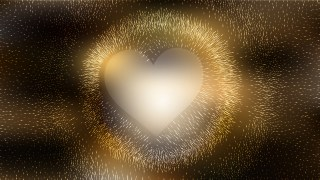 Black and Gold Valentines Day Background Vector