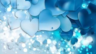 Blue Valentine Background Graphic