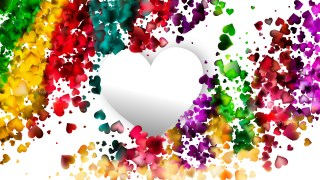 Colorful Romance Background