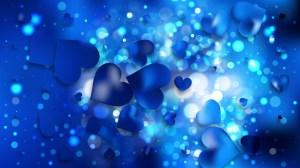 Dark Blue Valentine Background Graphic