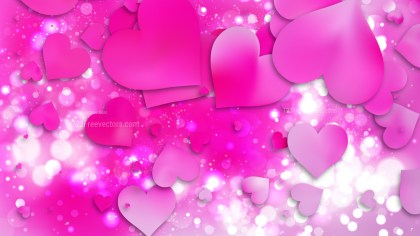 Fuchsia Valentines Day Background