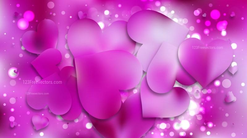 Fuchsia Valentines Background