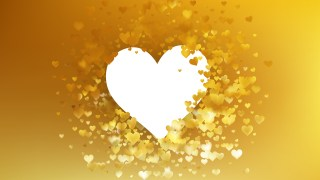 Gold Valentines Background