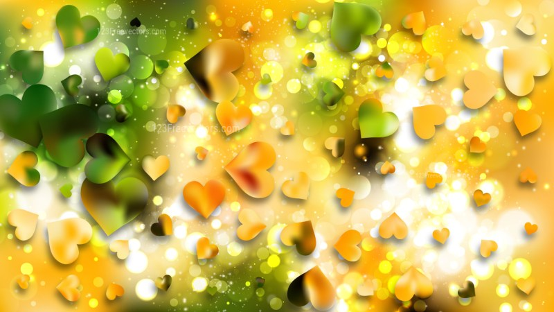 Green and Yellow Lovely Backgrounds