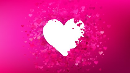Hot Pink Valentine Background