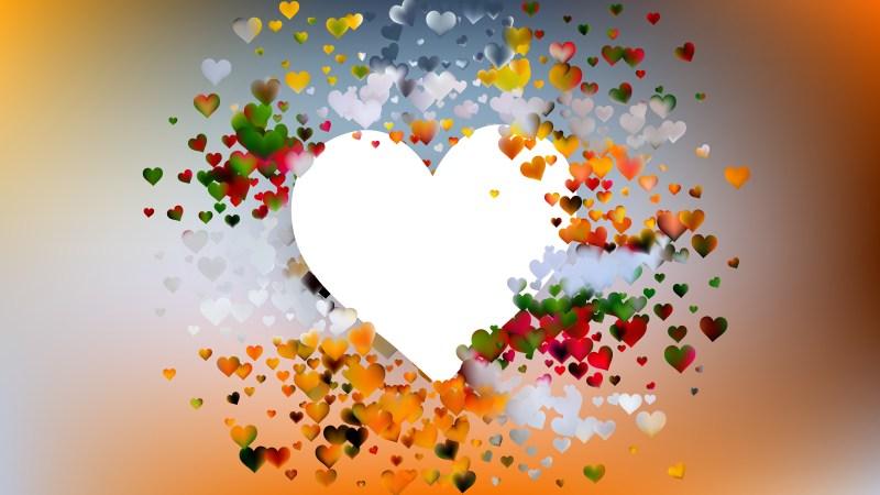 Light Color Valentines Day Background Design