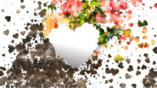Light Color Love Background Vector Image