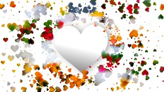 Light Color Valentines Background