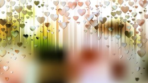 Light Color Valentines Day Background Vector Graphic