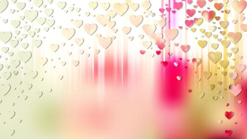 Light Color Love Background Vector Illustration