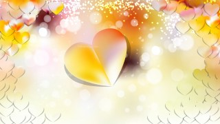 Light Color Heart Wallpaper Background