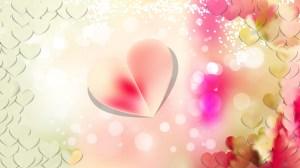 Light Color Valentines Day Background