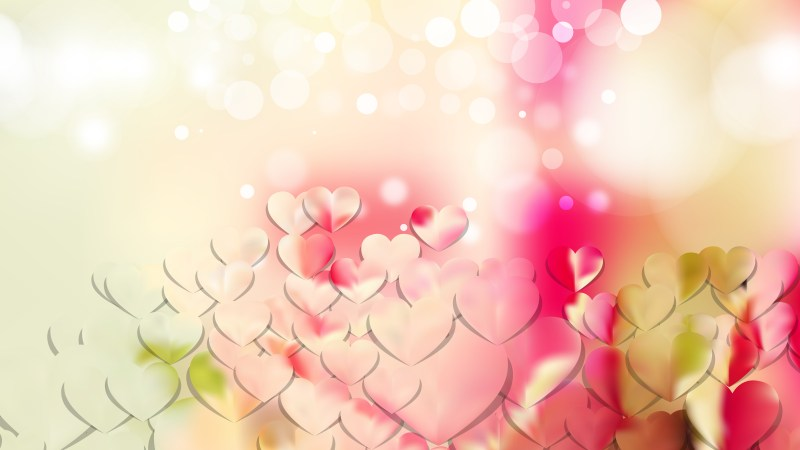 Light Color Valentines Day Background Illustrator