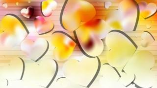 Light Color Valentine Background Vector