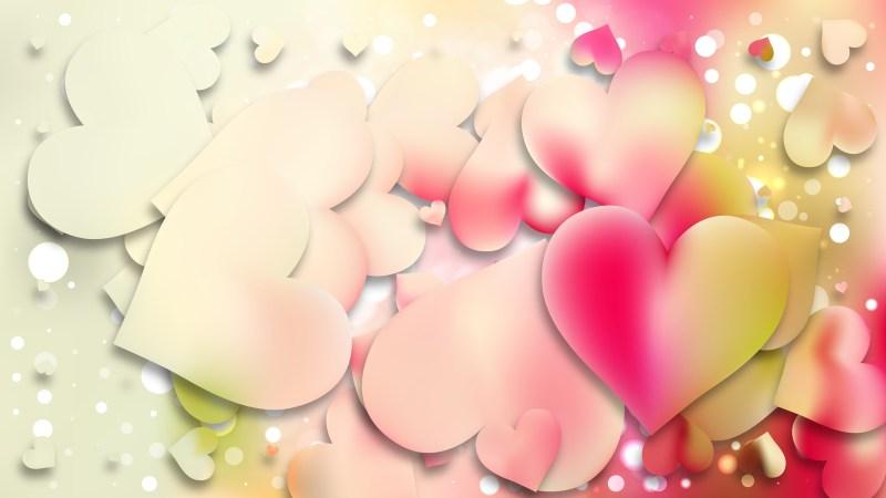 Light Color Love Background Vector Art