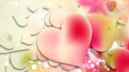 Light Color Valentine Background