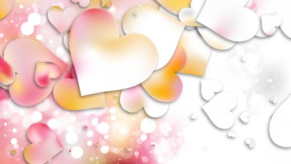 Light Color Valentines Day Background Vector