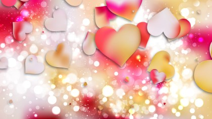 Light Color Valentines Background Vector Art