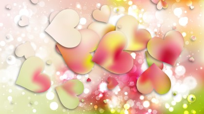 Light Color Valentine Background Graphic