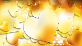 Light Orange Love Background