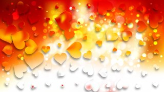 Light Orange Valentines Day Background Graphic