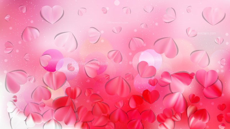 Light Pink February Background