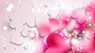 Light Pink Heart Background