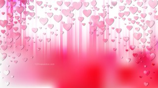 Light Pink Valentines Day Background