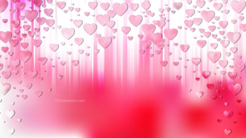 Light Pink Valentines Day Background
