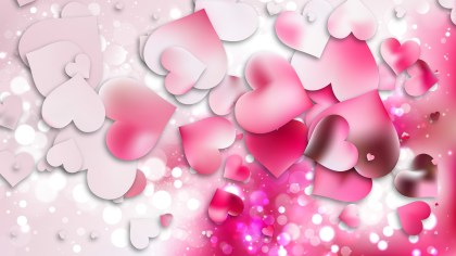 Light Pink Valentines Background
