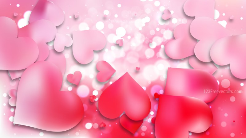 Light Pink Valentine Background
