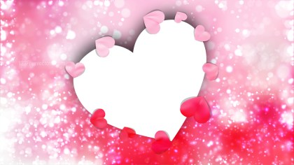 Light Pink Valentine Background Graphic