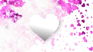 Light Purple Love Background