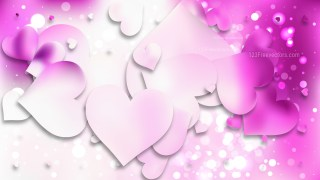 Light Purple Heart Wallpaper Background Vector Art