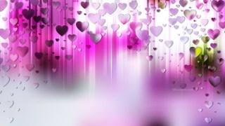 Light Purple Valentines Background Illustration