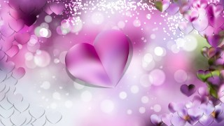 Light Purple Love Background Image