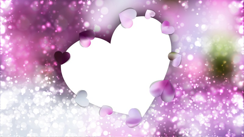 Light Purple Valentines Background