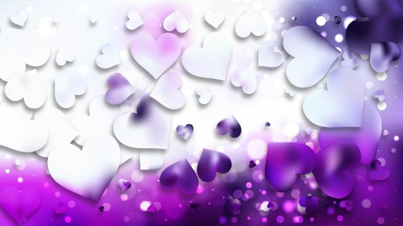 Light Purple Love Background