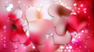 Pink Romantic Background