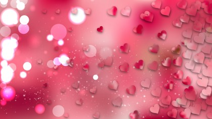 Pink February Background