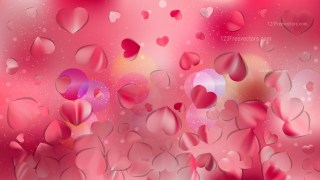Pink Valentine Background Illustrator