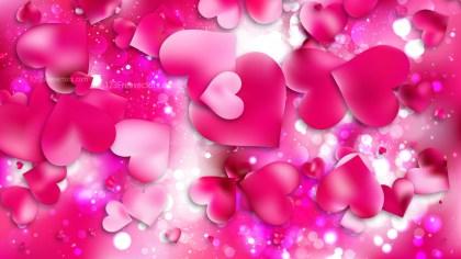 Pink Valentines Day Background