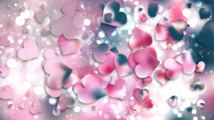 Pink Valentines Background