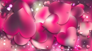 Pink Love Background Vector Art