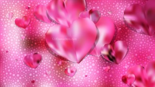 Pink Valentine Background