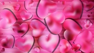 Pink Valentine Background Graphic