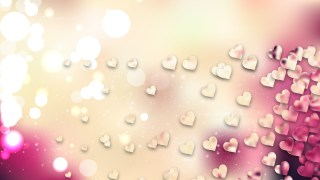 Pink and Beige Valentines Background Image